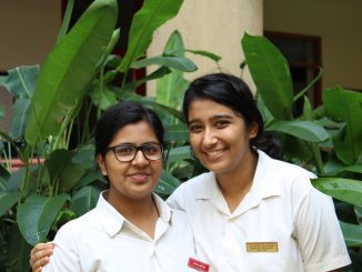 "Pooja (left) and Garvita (right), the founders of ""Why Waste?"" Photo: Pradyumn Lath"